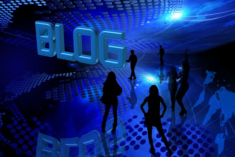 Stock market for blogs