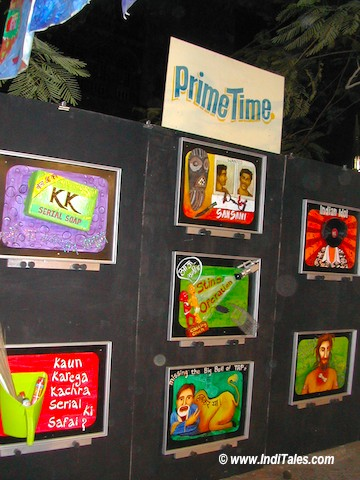 TV Serials at Kala Ghoda Festival, Mumbai 2006