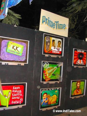 TV Serials at Kala Ghoda Festival, Mumbai 2006