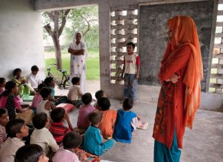 Rural School Mewat Haryana