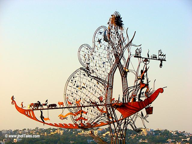 Wrought Iron Sculpture at Bhopal