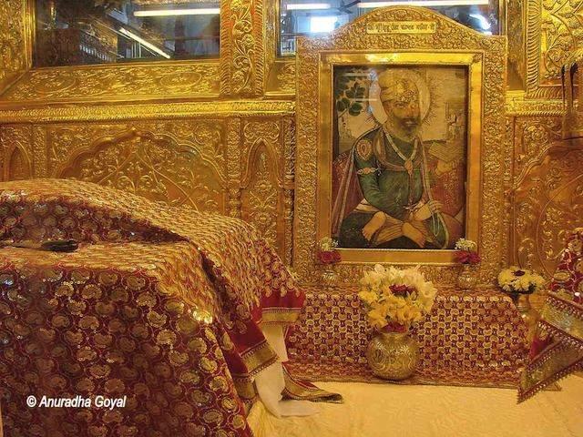 Guru Teg Bahadur Shahidi spot at Sis Ganj Gurudwara, Old Delhi