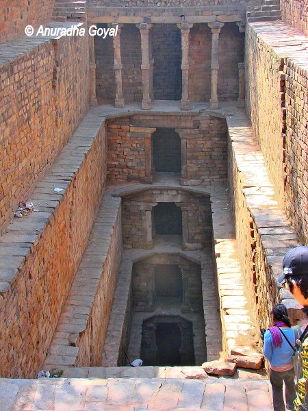 Gandhak ki Baoli or the Sulphur Stepwell at Mehrauli, Delhi