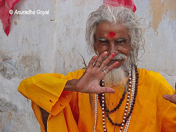 Sadhu at Pushkar