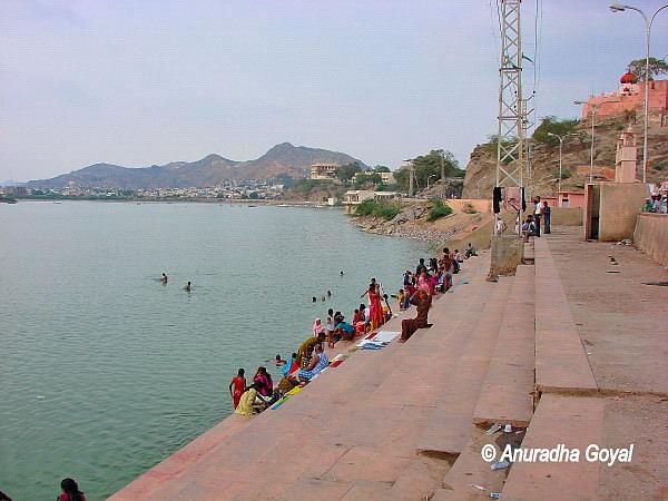 Ana Sagar Lake, Ajmer