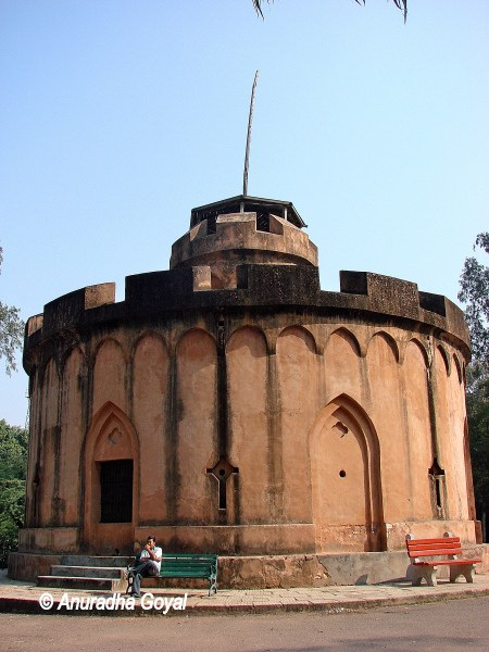 British Watch Tower on North Ridge Delhi