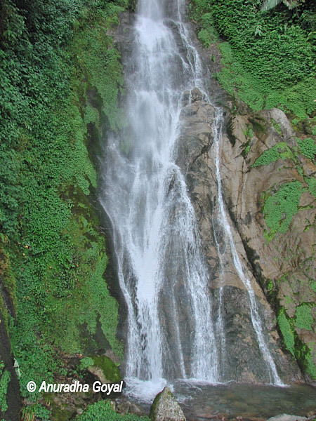 Waterfalls on the way to Tenga Valley