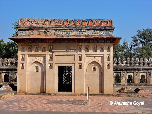 Jamali Kamali Mosque at Mehrauli Archaeological Park