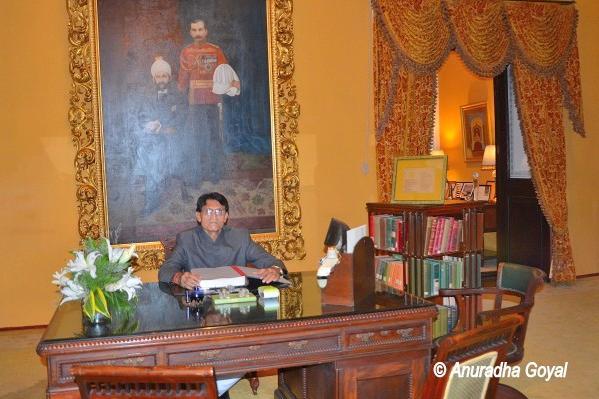 Resident Historian at Falaknuma