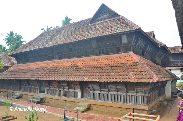 Part view of Padmanabhapuram Palace