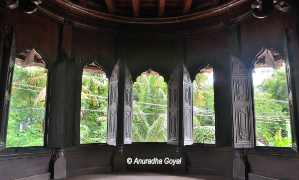Padmanabhapuram Palace of the kings of Travancore