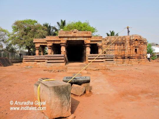 Banashankari temple, Chalukyan Temples being restored, Amargol, Hubli