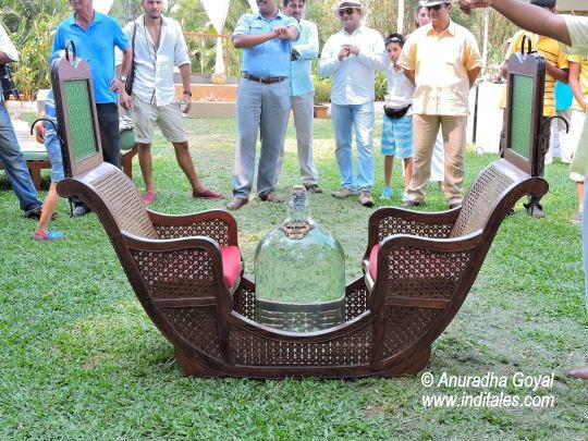 Feni auction at Cashew trail, Park Hyatt Goa