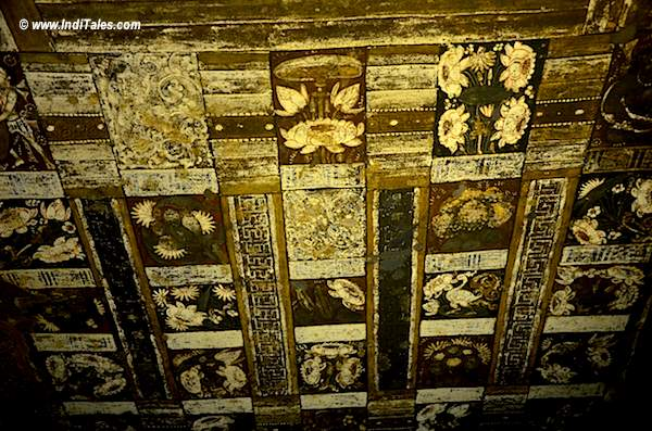 Flora & Fauna on ceilings of Ajanta Caves