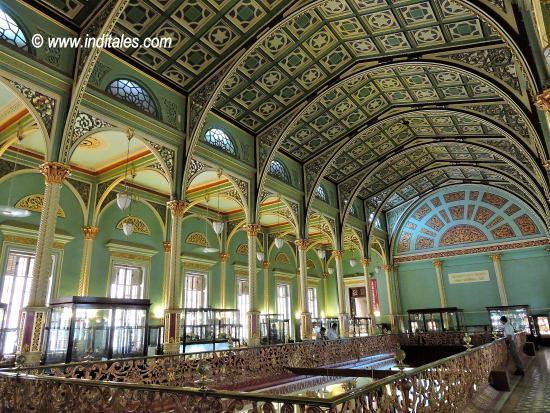 Lovely interiors of Bhau Daji Lad Museum