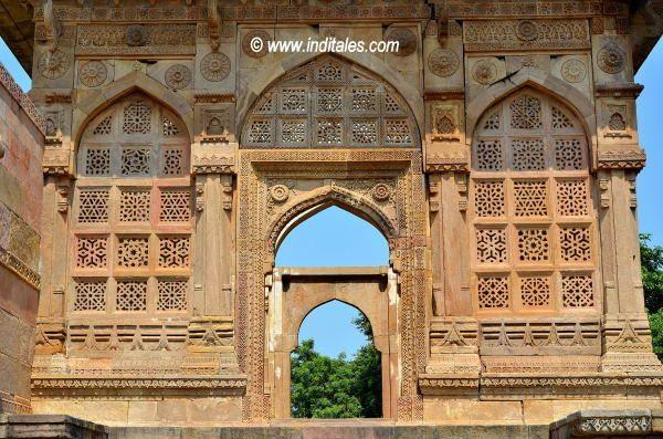 Lattice Work at Jami Masjid Champaner, Gujarat