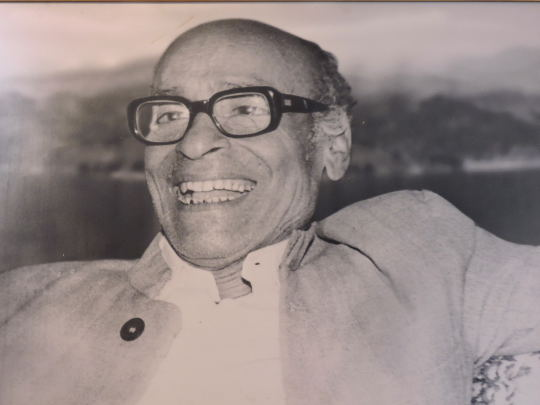 Portrait of Mallikarjun Mansur