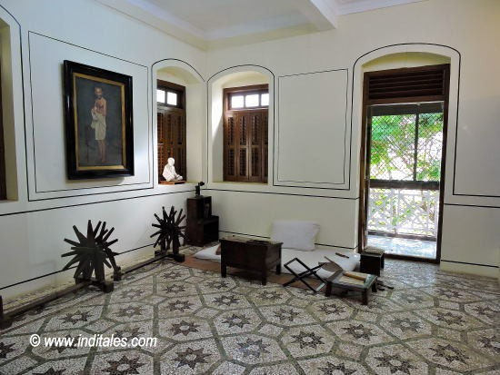 Gandhi Ji's Room at Mani Bhavan, Mumbai