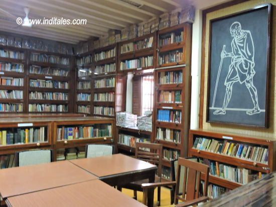 Library at Mani Bhavan Mumbai