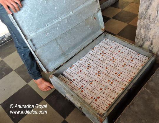 Trunkfull of Dharwad Pedha boxes