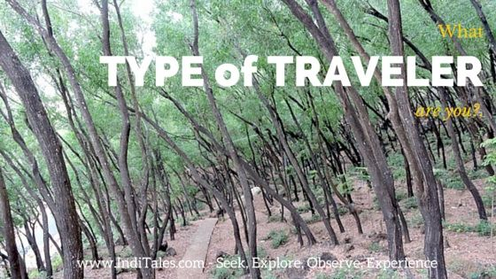 What Type of Traveler Are you - IndiTales