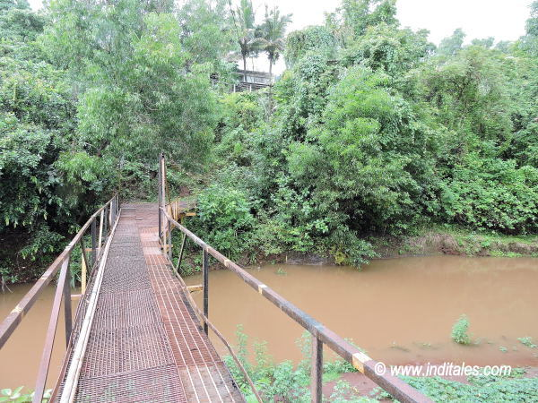 Iron Bridge at Arvalem Waterfall, Goa