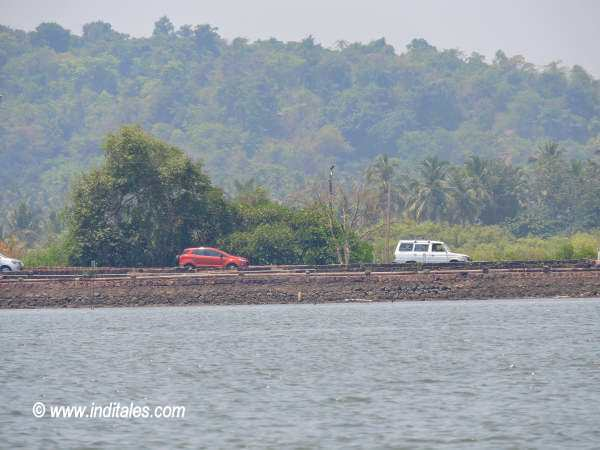 Ribandar Causeway view from Goa Backwaters Boat Ride