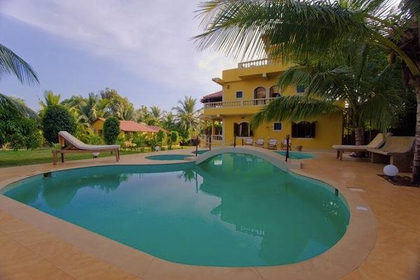 Private Pool at a Goa Villa