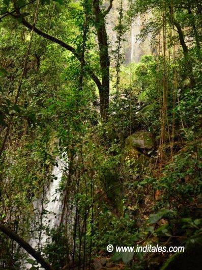 Kuskem Falls step-wise waterfall