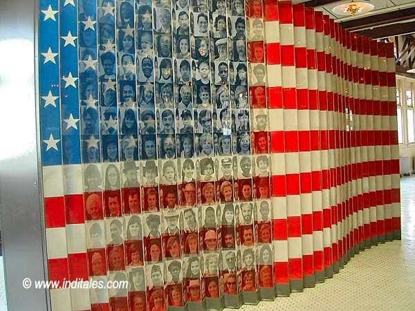 Display at Ellis Island Museum, New York