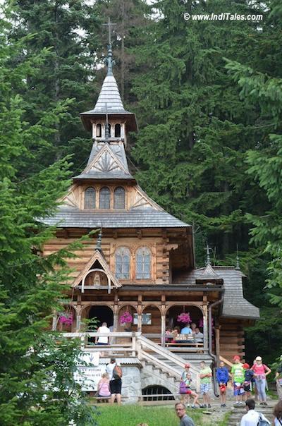 Jaszczurowce - chapel at Zakopane