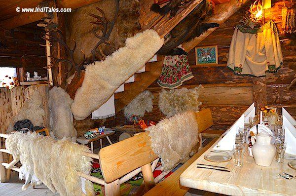 Animal Skin Interiors at Zakopane