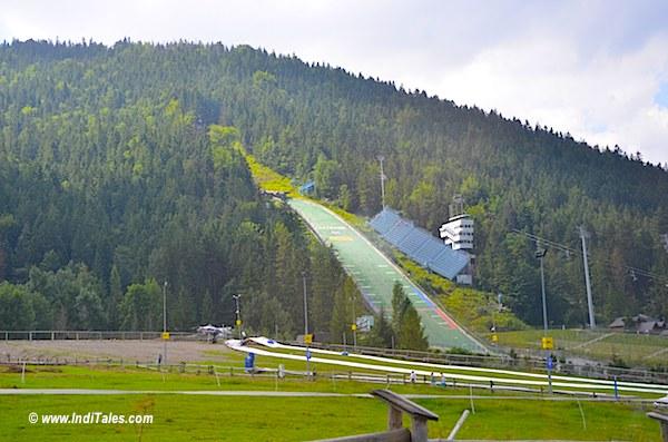 Ski Pads at Zakopane, Poland