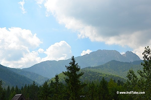 Sleeping Man Hill at Zakopane