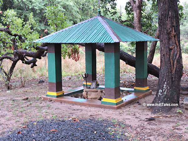 Sidhhababa Temple or Shiva Temple inside Bandhavgarh National Park