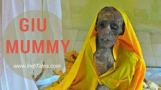 Giu Mummy Spiti Valley