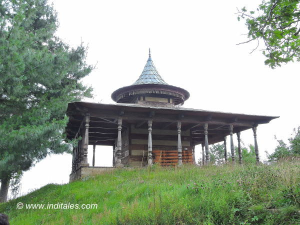 Arya Samaj Paramjyoti Temple at Thanedhar, Himachal Pradesh