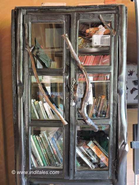 Library at Kings Lodge Bandhavgarh