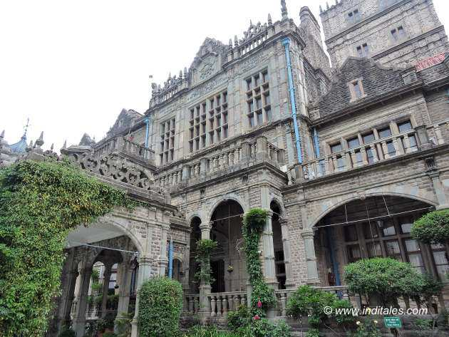 Details of Rashtrapati Niwas or Viceregal Lodge or Indian Institute of Advance Study, Shimla