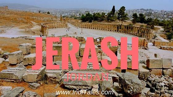 Tourist Destination in Jordan - Jerash