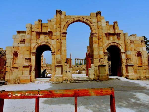 South Gate of Jerash, Jordan