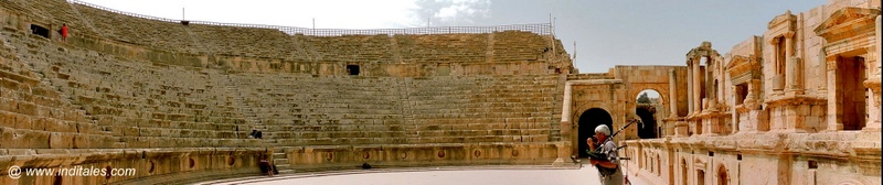 South Theatre in Jerash