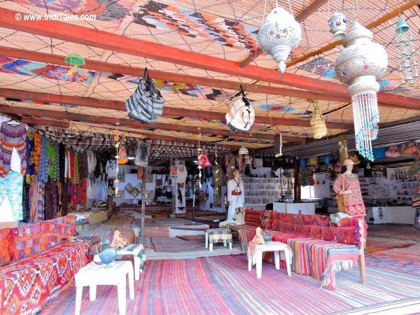 Bedouin Tents cum Shops