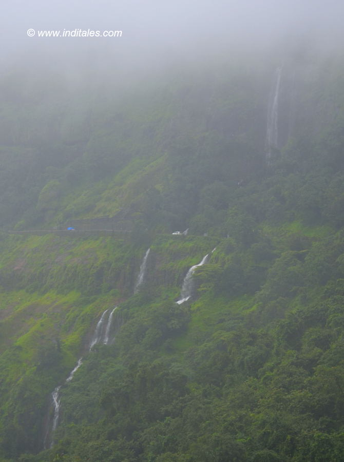 Amboli Ghat Waterfalls landscape, Hill stations in Maharashtra