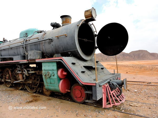 Steam Engine of Hejaz Railways, Jordan