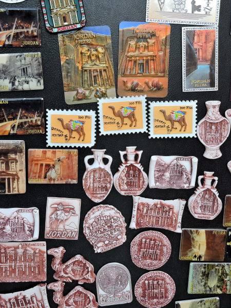 Fridge Magnets from Jordan