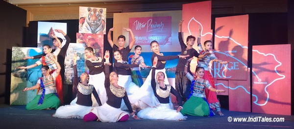Story of Kathak at Up Travel Writers Conclave 2015, Lucknow