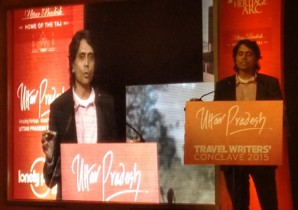 Filmmaker Nagesh Kukunoor at UP Travel Writers Conclave 2015, Lucknow