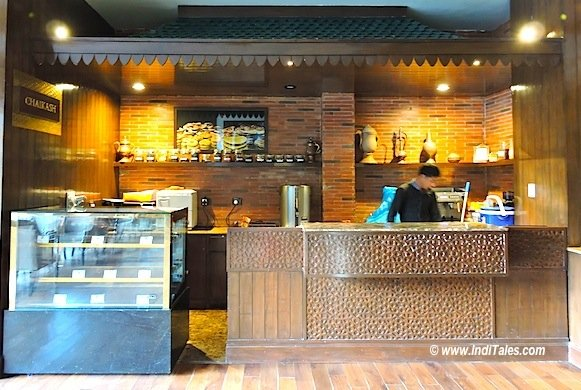 Chaikash - the chai shop at Khyber Himalayan resort & Spa Gulmarg