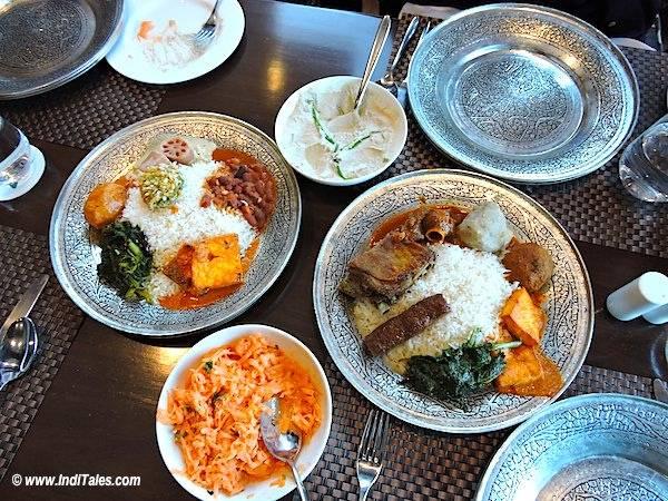 Kashmiri Wazwan Meal